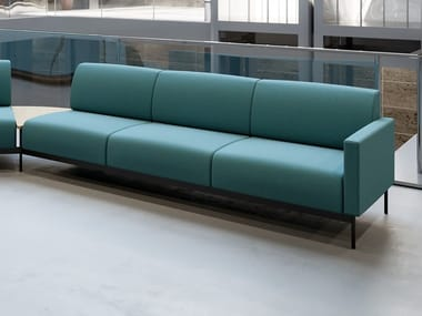 Modular 3 seater fabric sofa HOTEL | 3 seater sofa