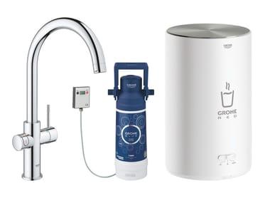 Rubinetto da cucina / dispenser acqua potabile RED II 30083001 | Miscelatore da cucina