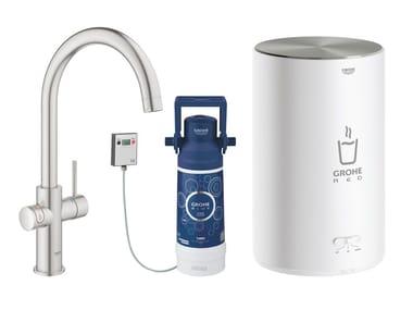 Rubinetto da cucina / dispenser acqua potabile RED II 30083DC1 | Miscelatore da cucina