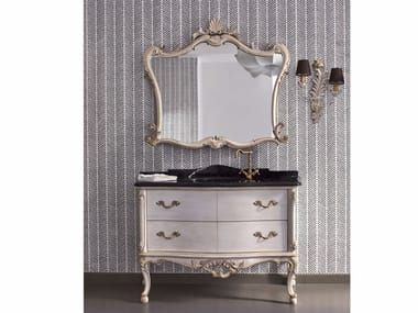 Classic style vanity unit with drawers 3024 | Vanity unit with mirror