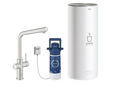 Rubinetto da cucina / dispenser acqua potabile RED II 30325DC1 | Miscelatore da cucina
