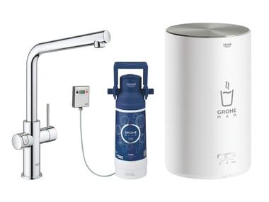 Rubinetto da cucina / dispenser acqua potabile RED II 30327001 | Miscelatore da cucina