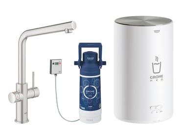 Rubinetto da cucina / dispenser acqua potabile RED II 30327DC1 | Miscelatore da cucina