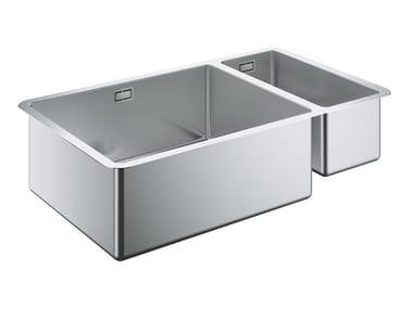 Lavello a una vasca e mezzo sottotop in acciaio inox K700 - 31575SD0 | Lavello