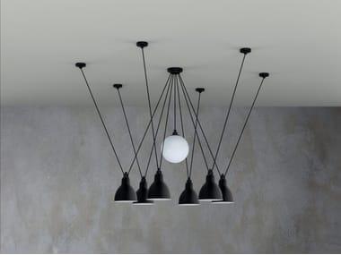 Lampada a sospensione in acciaio №327 | Lampada a sospensione