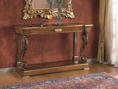 Rectangular wooden console table 35TH ANNIVERSARY 294/294-WS