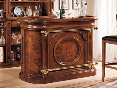 Wooden bar counter 35TH ANNIVERSARY 355