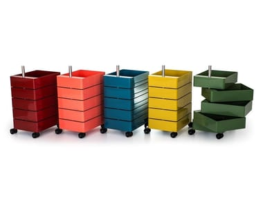 ABS chest of drawers with casters 360° | Chest of drawers