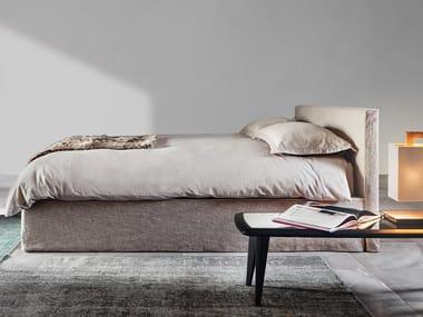 Doppelbett Mit Bettkasten Mit Abnehmbarem Bezug 3600 TANGRAM