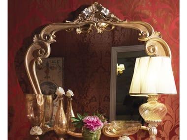 Specchio in legno con cornice da parete 3680 | Specchio da parete
