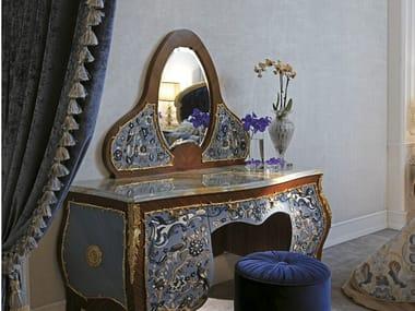 Specchio da tavolo in legno con cornice 3690 | Specchio