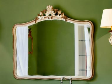 Framed wall-mounted mirror 3693 | Mirror