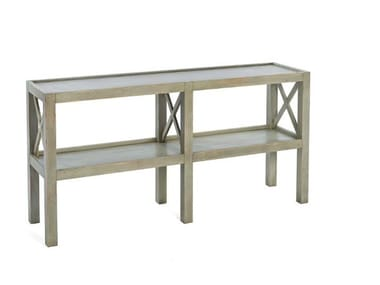 Rectangular wooden console table 3695 | Console table