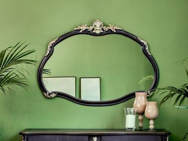 Framed wall-mounted mirror 3706 | Mirror