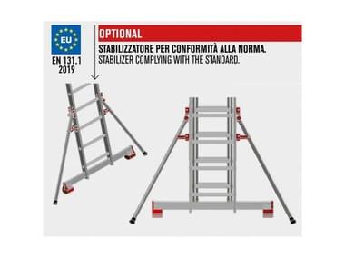 Stabilizzatore in alluminio 3CM | Stabilizzatore