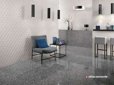 White paste 3d wall cladding 3d wall design diamond by for Carrelage 40x80