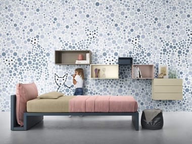 Dotted washable wallpaper 3DOTS