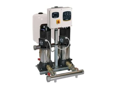 Gruppi Di Pressurizzazione Con 1- 2-3 Pompe Centrifughe Pluristadio Ad Asse Verticale 3KVC