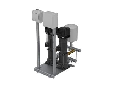 Gruppi Di Pressurizzazione A VelocitÀ Variabile Con Mce/P E Dconnect 3KVCXE MCE/P D.CONNECT