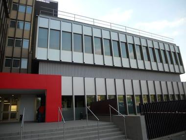 Ultra-thin PVC coating for the external facades decoration DI-NOC™ Exterior
