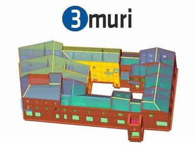 Masonry and mixed construction calculation 3Muri Easy