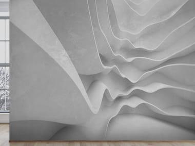 Papel de parede ecológico com efeito 3D com suporte de reboco 3D WALL 3D 01