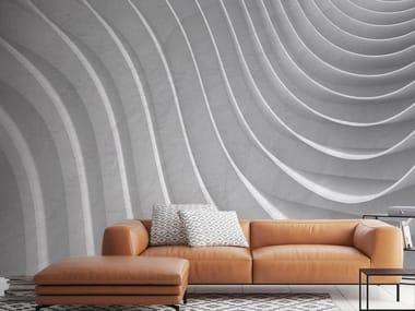 Papel de parede ecológico com efeito 3D com suporte de reboco 3D WALL 3D 03