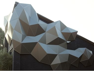 3D Wall Cladding for facades TAILOR MADE   3D Wall Cladding for facades