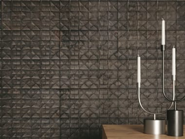 Porcelain stoneware 3D Wall Cladding MATERIA | 3D Wall Cladding