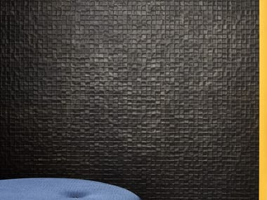Porcelain stoneware 3D Wall Mosaic with concrete effect SHADES | 3D Wall Mosaic with concrete effect