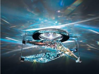 Halogen recessed crystal spotlight 4 REFLEX