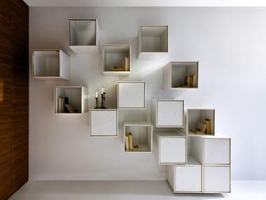 Wood veneer wall cabinet 40/40