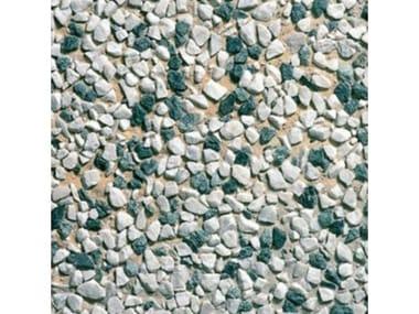 Pavimenti per esterni 40 x 40  - Lavato Carrara misto verde