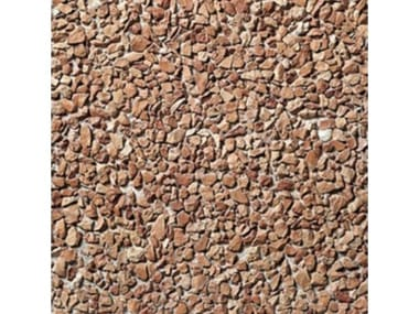 Pavimenti per esterni 40 x 40 - Lavato Rosso Verona