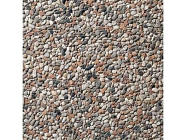 Pavimenti per esterni 40 x 40 - Lavato Tagliamento misto rosso
