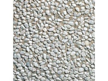 Pavimenti per esterni 40 x 40 - Lavato bianco ciottolo
