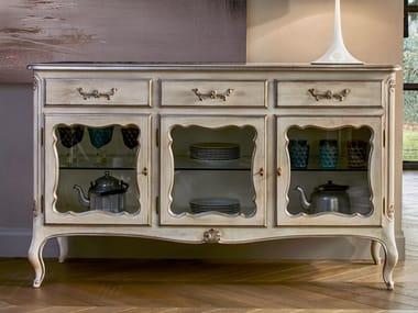 Madia in legno e vetro 4018 | Madia