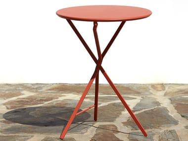 Tavolo pieghevole rotondo in metallo 402 | Tavolo