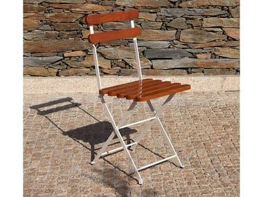 Folding wooden garden chair 403   Wooden chair