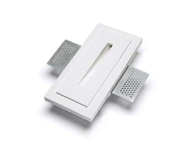 LED wall-mounted Cristaly® steplight 4100E | Wall-mounted steplight