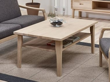 Rectangular wooden coffee table 4254 | Coffee table