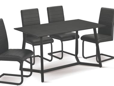 Rectangular wooden table 45 | Table