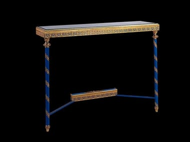 Rectangular bronze console table 45100   Console table