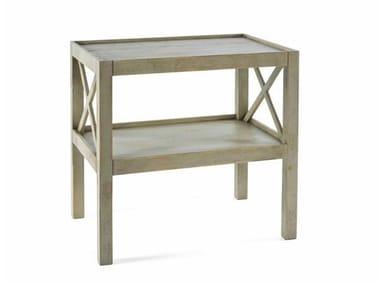 Tavolino di servizio rettangolare in legno 4695 | Tavolino