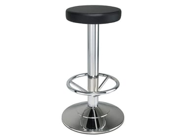 Steel stool with footrest 470 | Stool