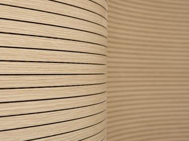 Sound absorbing MDF wall tiles 4AKUSTIK