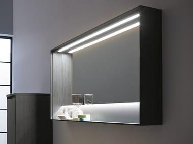 Bathroom mirror with integrated lighting 5.ZERO | Mirror
