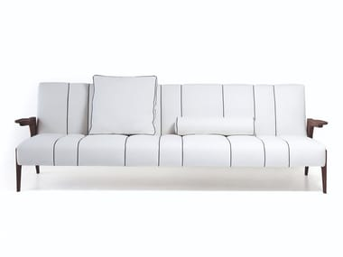 Sectional leather or fabric sofa 50 ITALO