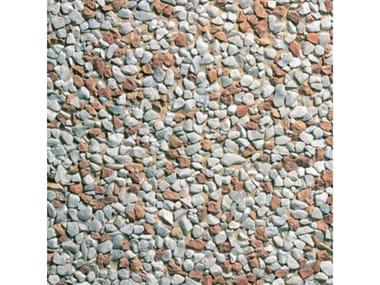 Pavimenti per esterni 50 x 50 - Lavato Carrara misto rosso