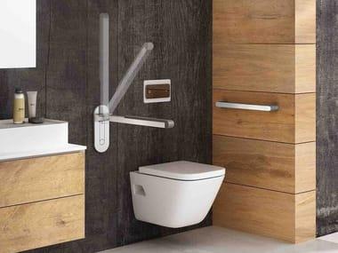 Aluminium toilet grab bar 500   Toilet grab bar